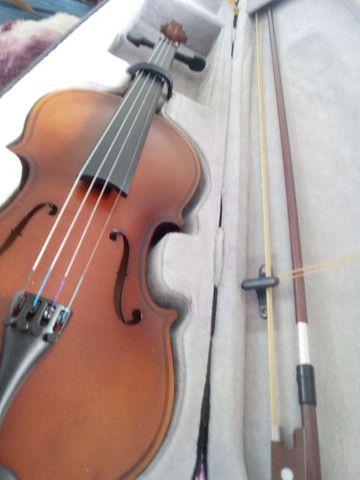 violino marinos com estojo - Foto 3