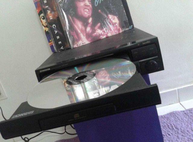 Aparelho Leaser Disk Pionner, Cdl S201 Com Discos