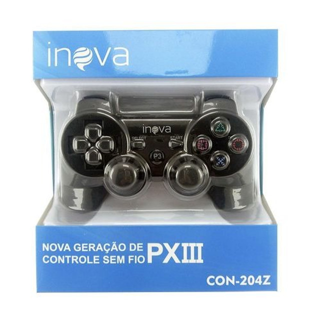 Controle Joystick Ps3 Inova