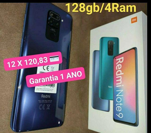 Redmi Note 9 128gb/4Ram com Garantia 1 Ano - Foto 3