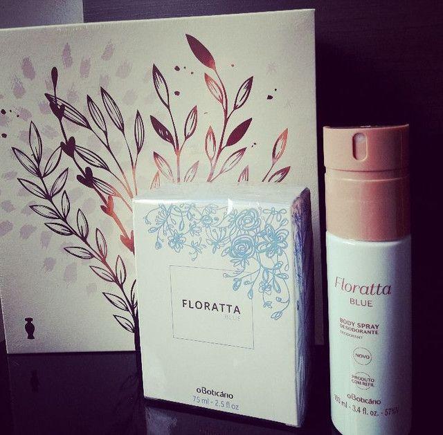 Kit Floratta BLUE Perfume e Desodorante, Black Week
