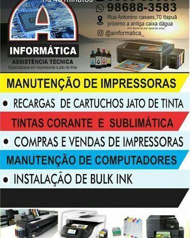 Instalacao de bulk ink 8100/8600/8610/8610 - Foto 2