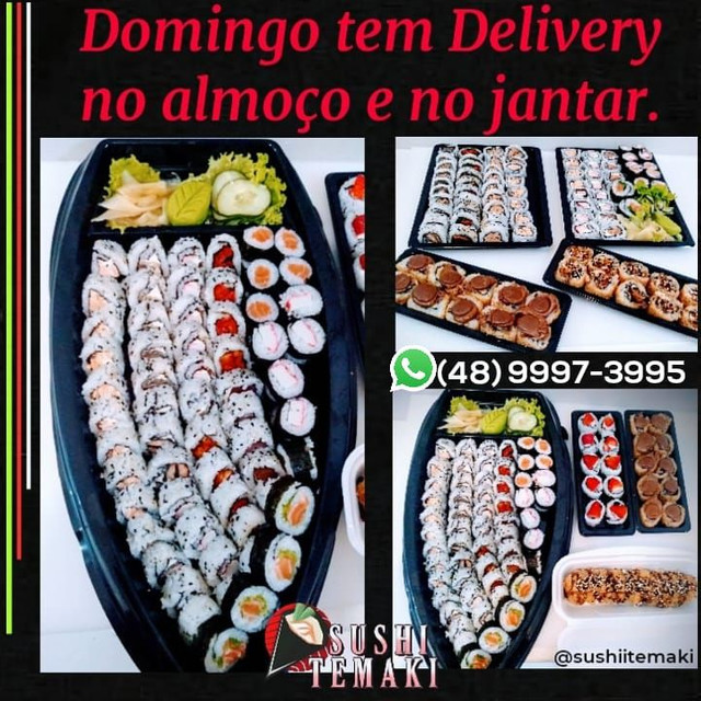 Delivery sushi
