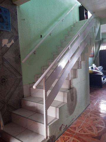 Casa duplex 5 quartos 2 banheiros sala cozinha área de serviço garagem poço de água - Foto 8