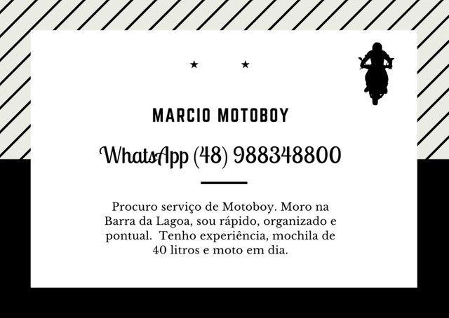 Motoboy Disponível Região Leste
