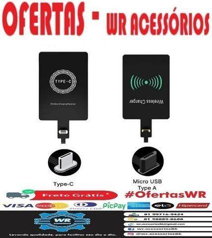Adaptador  Carregamento indução - ENTREGA GRÁTIS - Foto 4