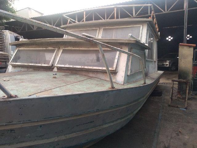 Barco cabinado de 28 pés R$ 35.600,00 - Foto 2