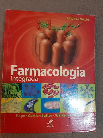 Livros Anatomia e Farmacologia (3 livros) - Foto 2