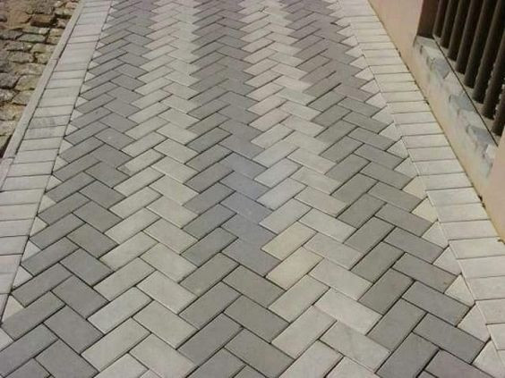 Piso paver intertravado, piso concreto, tijolinho, bloco de concreto
