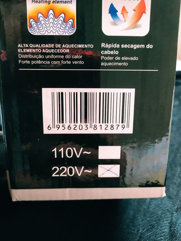 Secador de Cabelo ( Novo Na caixa )  - Foto 4
