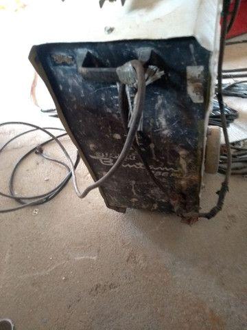 Uma máquina de solda,com a fiação completa,e duas lichadeira - Foto 3