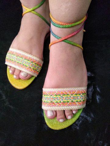 Sandálias - Rasteirinhas - Foto 5