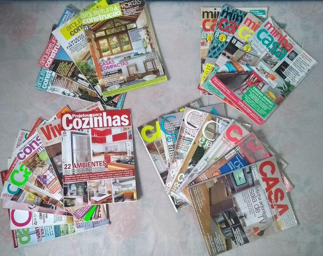 R$15 por 23 Revistas de Decoração