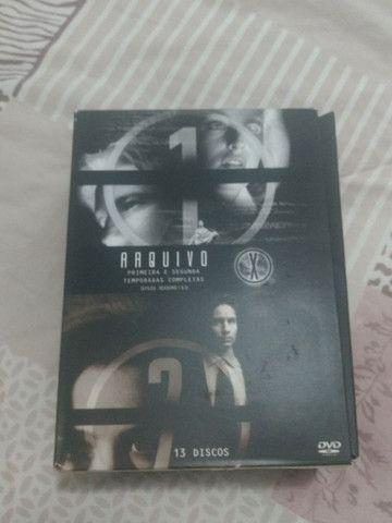 """Coletânea de CDs - Série """"Arquivo X"""" - Foto 2"""