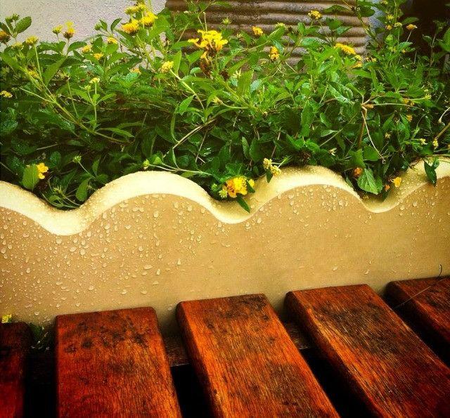 Meio fio piso intertravado, guia, meio fio para jardim, ondulado e reto
