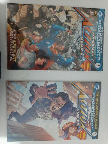 HQs DC Renascimento - Superman Action Comics edições de 1 a 8 - Foto 2