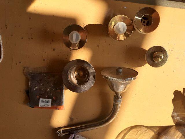 Peças hidráulica usada