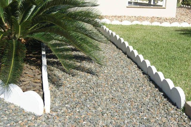 Meio fio piso intertravado, guia, meio fio para jardim, ondulado e reto - Foto 4