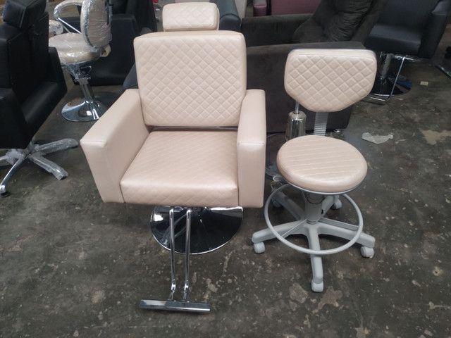 Móveis pra salão beleza barbearia esmalteria manicure e mais - Foto 5