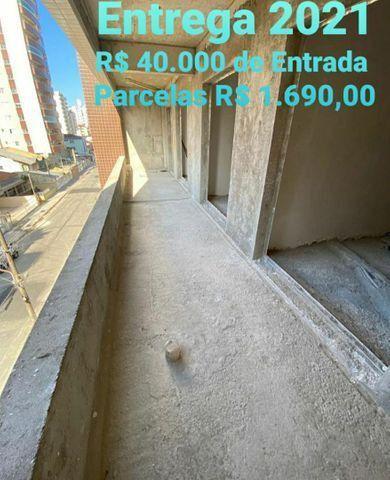 Parcela 1.690,00 - 78 metros, 2 dormitórios 1 suite Entrega em 2021