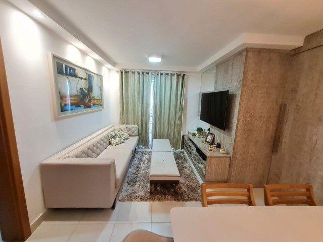 Edificio Harmonia - 2 quartos andar alto, mobiliado, 2 garagem