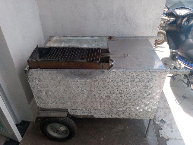 carro de churrasco