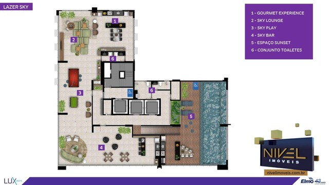 Apartamento com 2 dormitórios à venda, 67 m² por R$ 444.603 - Setor Oeste - Goiânia/GO - Foto 16