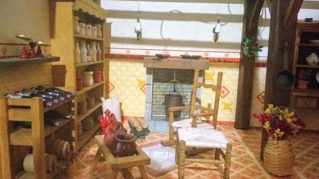 Casa miniatura madeira - Foto 3