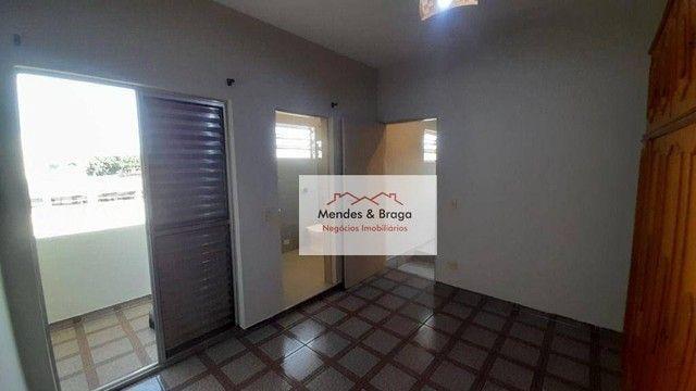 Sobrado com 4 dormitórios para alugar, 160 m² por R$ 2.500,00/mês - Cocaia - Guarulhos/SP - Foto 19