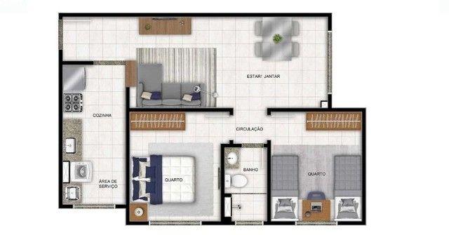 Apartamento à venda, 47 m² por R$ 170.000,00 - Cidade Satélite - Natal/RN - Foto 8