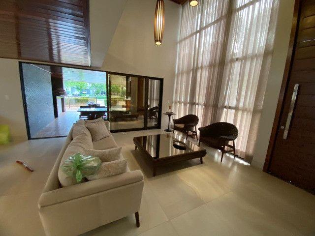 Casa belíssima a venda no Bosque das Gameleiras - 04 suítes - 538m - Luxo! - Foto 4