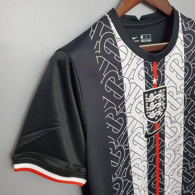 Camisa Inglaterra preta - Foto 3