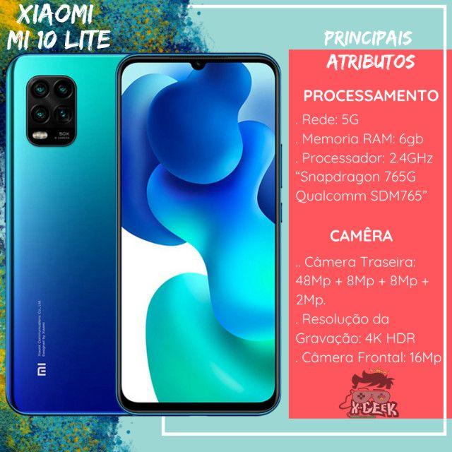 Xiaomi Mi 10 Lite 128gb - Rede 5G   Lacrado com garantia   Versão global - Foto 2