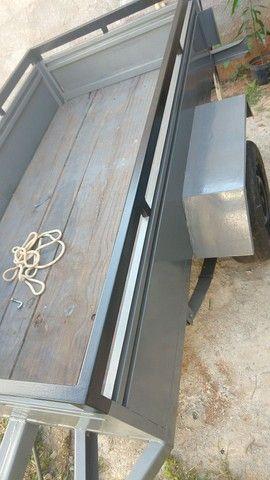 Carretinha em Metal aguenta peso - Foto 18