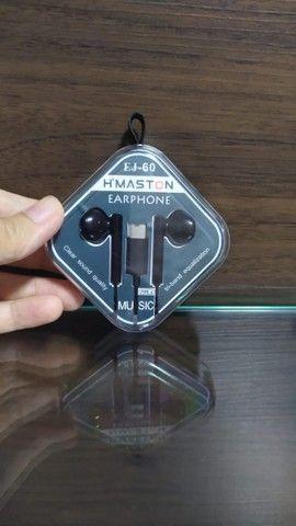 Fone Com Microfone Tipo C H´Maston