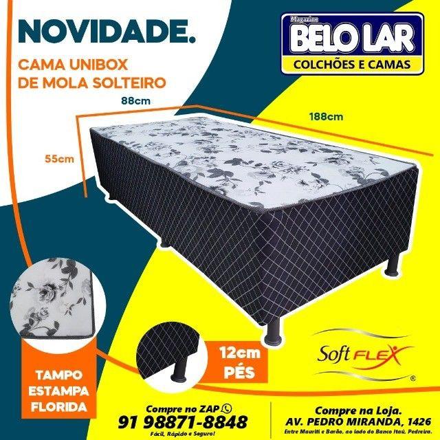 Unibox Solteiro De Mola, Compre no zap *