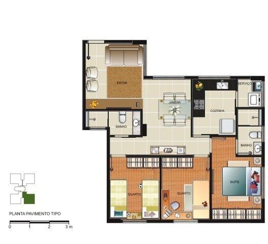 Apartamento à venda, 3 quartos, 1 suíte, 2 vagas, Salgado Filho - Belo Horizonte/MG - Foto 16