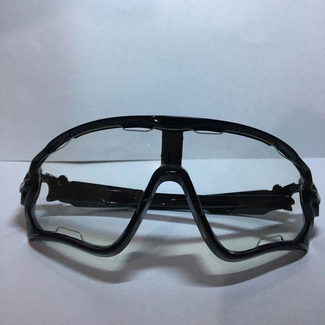 Óculos Ciclismo Sol e Transparente  - Foto 6