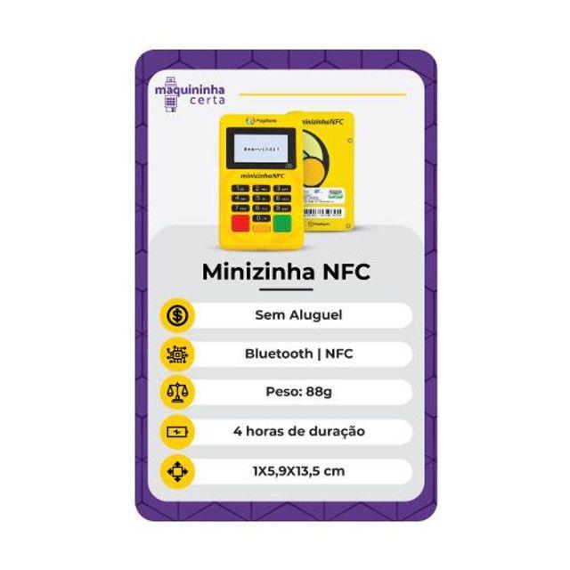 """""""`?MÁQUINA PASSA CARTÕES_ ?`MINIZINHA-NFC? - Foto 2"""