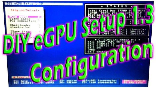 Software Diy Egpu 1.3x 1.35 Oficial Com Tutorial Traduzido