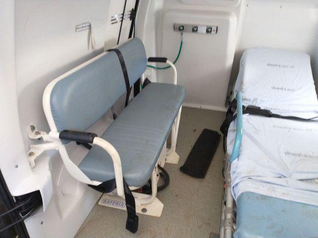 Partner Berlingo Ambulância Sucata - Foto 4