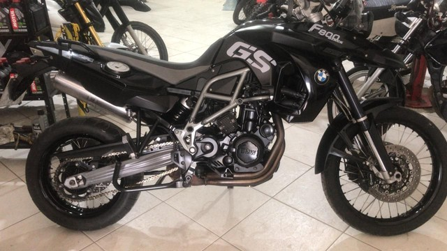 BMW F800 GS TRIPLE BLACK 2012