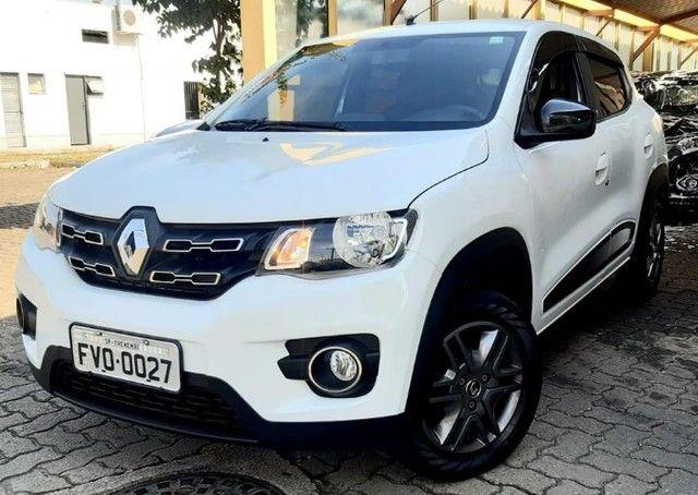 15-Renault Kwid 1.0 Flex 2018 Baixissimo km  - Foto 5