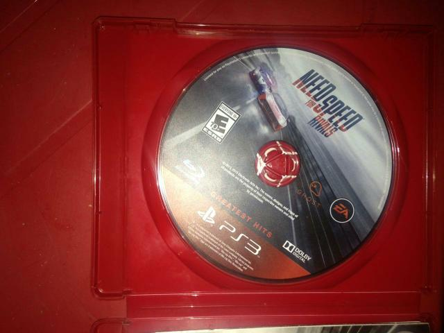 Cd need for speed rivals original ps3