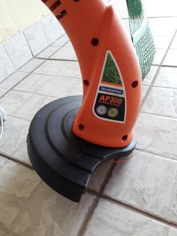 Aparador de grama + rastelo e cabo