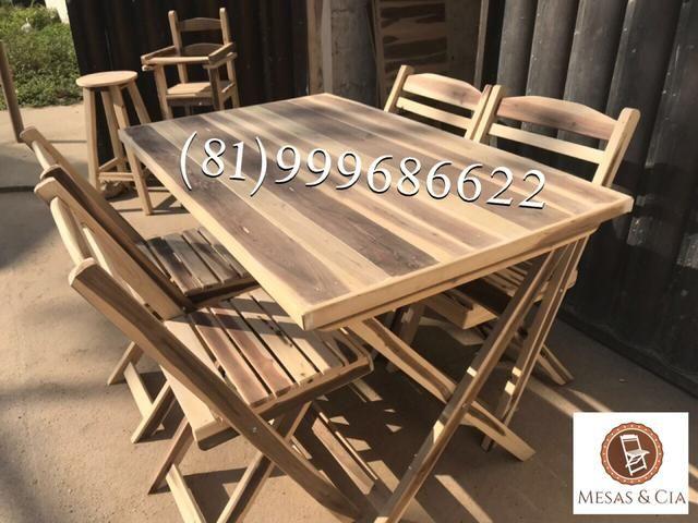 Mesa 120x70 para restaurante