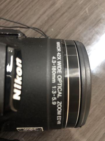 Câmera semi profissional Nikon Coolpix P520 - Foto 3