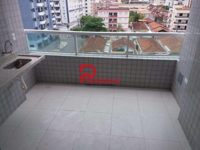 Apartamento para alugar com 2 dormitórios em Ocian, Praia grande cod:1088 - Foto 19