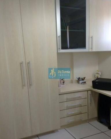 Apartamento com 2 dormitórios à venda, 104 m² por R$ 450.000 - Centro - Cosmópolis/SP - Foto 6