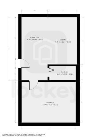 Casa com 40m² e 1 quarto - Foto 14